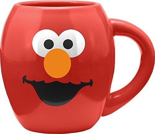 Vandor Sesame Street Elmo Monster 18 Oz. Oval Ceramic Mug (32361)
