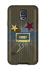 Galaxy Cover Case - Cassette Protective Case Compatibel With Galaxy S5