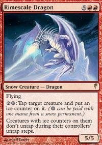 Magic: the Gathering - Rimescale Dragon - Coldsnap - ()
