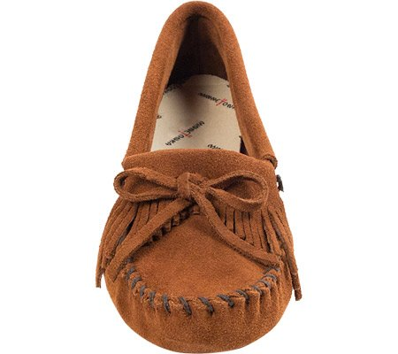 Softsole Women's Kilty Suede Brown Suede Minnetonka 1SHZ61