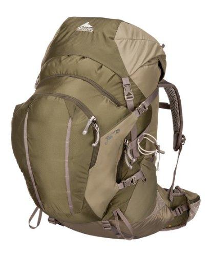 Gregory Women's Jade 70 Backpack, Caravan Green, X-Small, Outdoor Stuffs