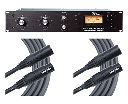 (Universal Audio 1176LN Classic Limiting Amplifier + Mogami Cables)
