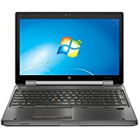 HP EliteBook 8570W 15.6 Notebook PC - Intel Core i7-3720QM 8GB 500GB DVDRW Windows 10 Professional (Certified Refurbished)