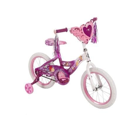 Disney Princess 16 Girls Bicycle - 16 Huffy Girls' Disney Princess Bike with Training Wheels, Heart by Huffy Girls