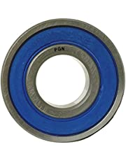 (20 Pack) PGN - 608-2RS Sealed Ball Bearing - 8x22x7 - Lubricated - Chrome Steel