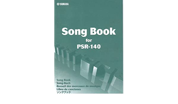 Song book for psr 140 yamaha amazon books fandeluxe Image collections