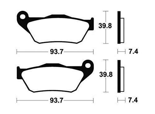 Lieferung entspricht der Foto MTB Bremsbel/äge YAMAHA XMAX f/ür 250/cc 2005/A 2009/ma337/Staat NEU 1/Paar MTB Bremsbel/äge BENDIX