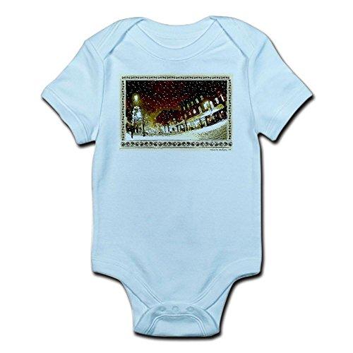 CafePress Wintery Church ST. Infant Creeper - Cute Infant Bodysuit Baby - Church Vt Street Burlington 2