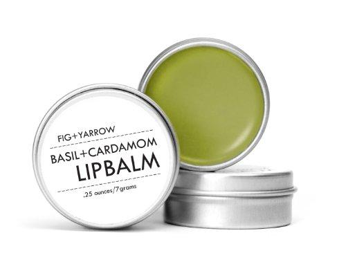 FIGYARROW-Organic-Basil-Cardamom-Lip-Balm