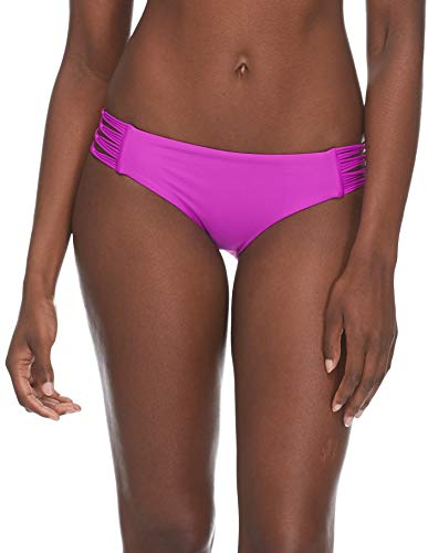 Body Glove Women's Smoothies Ruby Solid Bikini Bottom Swimsuit