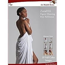 Art Models Zaza016: Figure Drawing Pose Reference (Art Models Poses)
