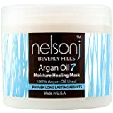 Nelson j Beverly Hills Argan Oil 7 Moisture Healing Mask 4 fl oz