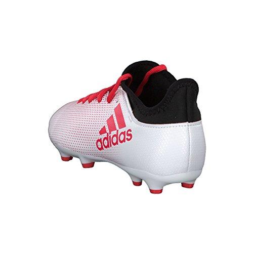 adidas Unisex-Kinder X 17.3 FG Fußballschuhe Grau (Grey/Reacor/Cblack)