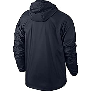 Nike Men's Team Sideline Rain Soccer Jacket (Medium) Obsidian