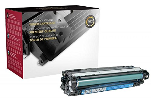 Inksters Remanufactured Toner Cartridge Replacement for HP CE741A (HP 307A) - 7.3K Pages (Cyan)