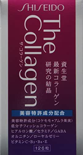 Shiseido The Collagen Tablet 126 tablets.