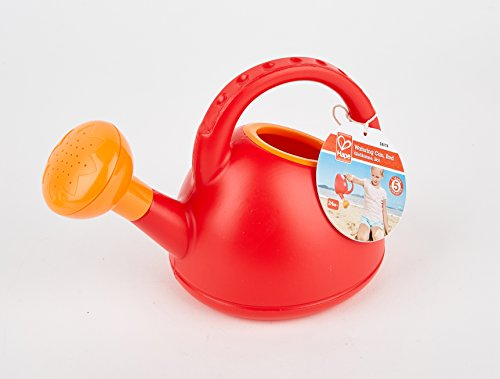 41dU71lS7KL - Hape Sand and Beach Toy Watering Can Toys, Red
