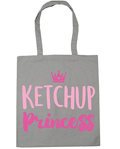 litres Beach princess 10 Grey 42cm Tote x38cm Bag Gym Light Shopping HippoWarehouse nz1qWxdIq