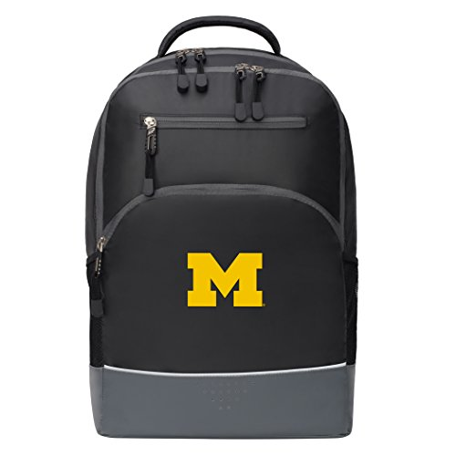 The Northwest Company Officially Licensed NCAA Michigan Wolverines Alliance Backpack, Black - Ncaa Licensed Pack