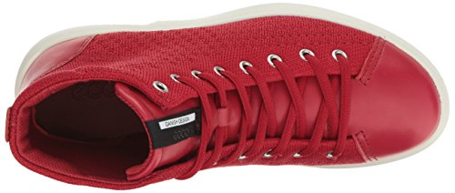 Soft Red Chili Sneaker 3 Chili Fashion ECCO Women's Red 5anwqpPgY