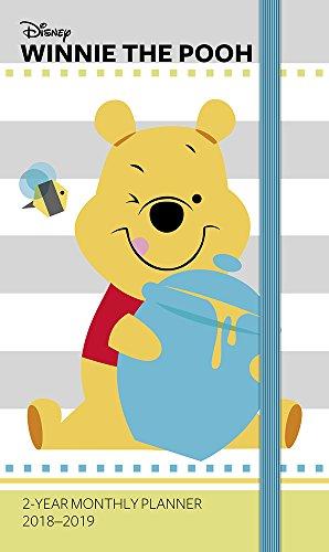 2018 Winnie the Pooh 2-Year Pocket Planner / Calendar (Day Dream)
