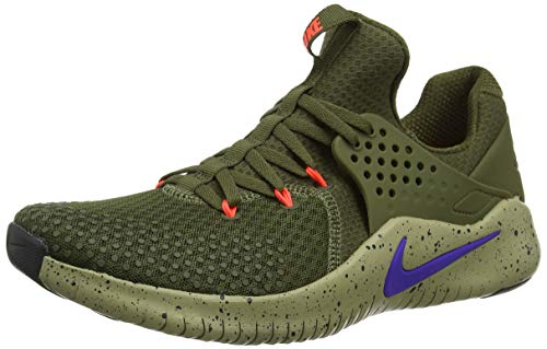 Burst Nike Uomo Free Trainer V8 Da olive 342 Scarpe neutral Multicolore Canvas indigo Trail Running Olive T7Tqr