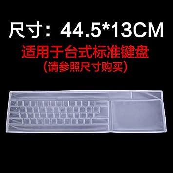 XXAICW Protector de escritorio pegatinas de teclado de membrana de teclado de laptop no temen lavado ...