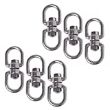 Cosmos Pack of 6 Smooth Hanging Basket Spinners