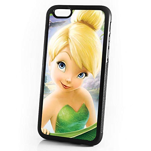 (for iPhone 8 Plus/iPhone 7 Plus) Durable Protective Soft Back Case Phone Cover - HOT11641 Tinkerbell