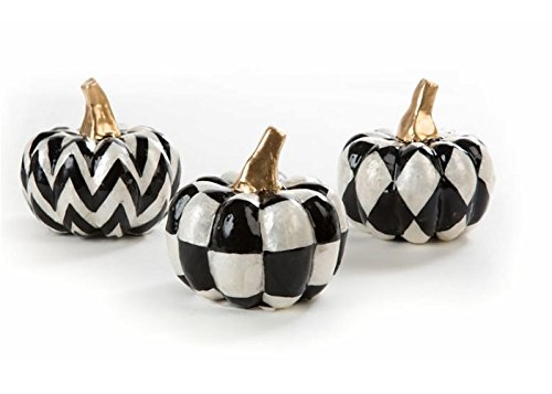 MacKenzie-Childs Capiz Pumpkins - Set of 3 by MacKenzie-Childs