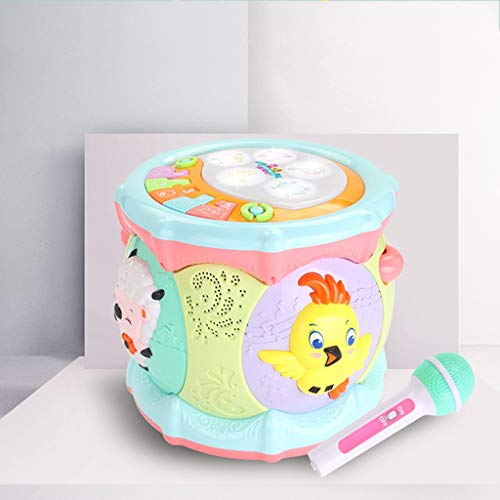 LIPENG-TOY 0-3-6 Years Old Children Learn to Sing Can Accompaniment Hand Drums Baby Infant Enlightenment Baby Toys Boys and Girls (Color : Multi-Colored) by LIPENG-TOY (Image #3)