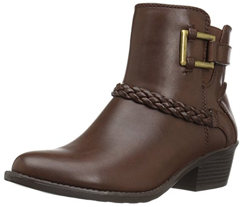 Street Bridle Easy Women's Bootie Brown Ankle x7EPw6