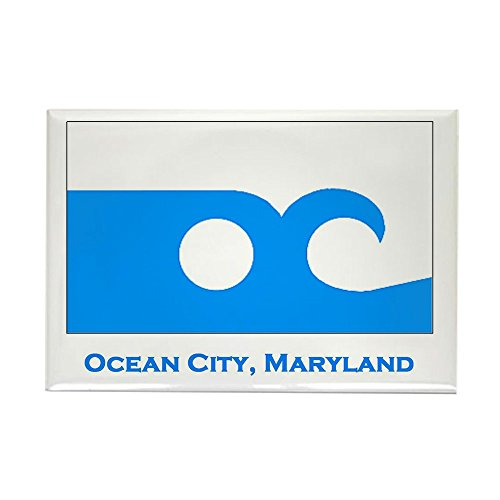 CafePress Ocean City MD Flag Rectangle Magnet Rectangle Magnet, 2