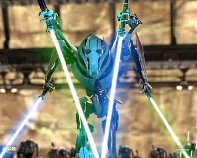 Amazon Com Star Wars Authentics Matthew Wood As General Grievous In Star Wars Revenge Of The Sith 11x14 Official Photo Photographs