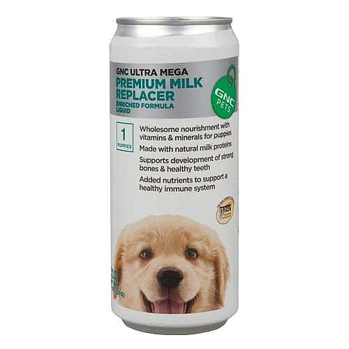 GNC Pets Ultra Mega Premium Milk Replacer For Puppies, 11 fl.oz