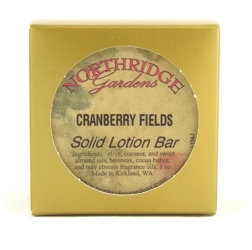 Northridge Gardens Cranberry Fields Solid Lotion Bar 1oz