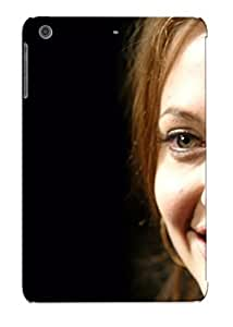 New Premium Standinmyside Angelina Jolie Image Skin Case Cover Design Ellent Fitted For Ipad Mini/mini 2 For Lovers