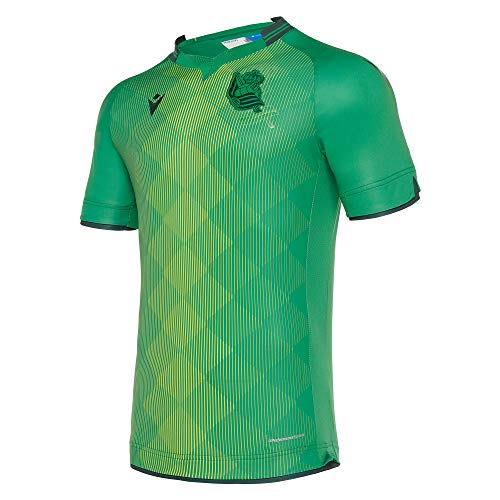 Macron Real Sociedad Segunda Equipación 2019-2020, Camiseta, Green