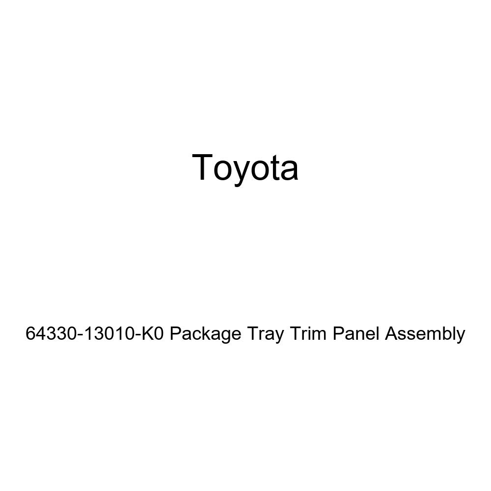 Toyota Genuine 64330-13010-K0 Package Tray Trim Panel Assembly
