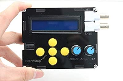 DDS Function Signal Generator Sine Square Triangle Sawtooth Wave Low Frequency Tester Meter