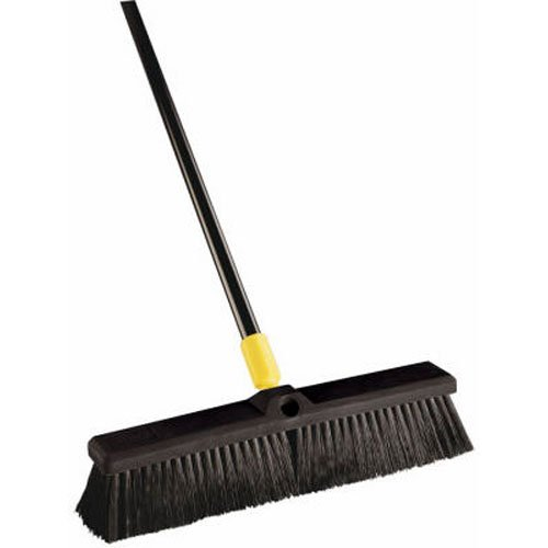 - Quickie Bulldozer 18-Inch Smooth Surface Push Broom