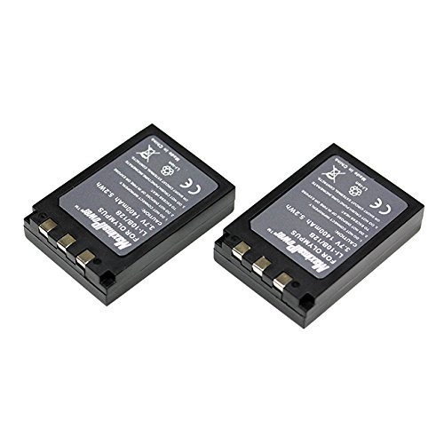 Maximal Power DB OLY LI-10B/12B X2 Maximalpower Replacement Battery for Olympus LI-10B,12B and Stylus 300,400,500,600,800,C-50,60,70,470,760,770,5000 Camera 2 Pack
