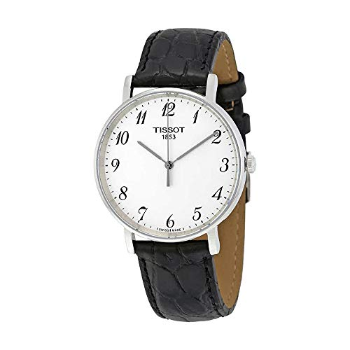 (Tissot T-Classic Everytime Leather Men's Watch T1094101603200)