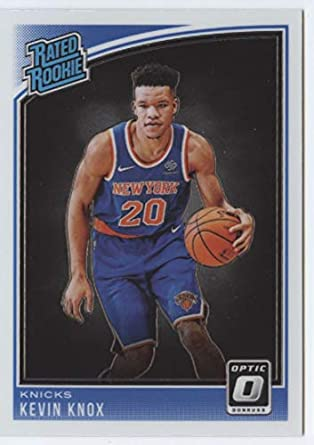 e87f3a101 2018-19 Donruss Optic  190 Kevin Knox Rated Rookie RC Rookie New York Knicks