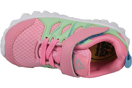 peppy Realflex mint Beam Sneaker Femme 40 Green Train Alt white Basses Pink Reebok Rose blue vxWg8qdwqY