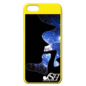Lmf DIY phone caseCustomise Sherlock Holmes Cool Shadow Face iphone 5c Durable Case Cover Bling Sky ShellLmf DIY phone case