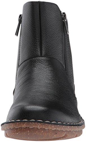 Clarks Kvinna Tamitha Blomma Boot Svart Läder