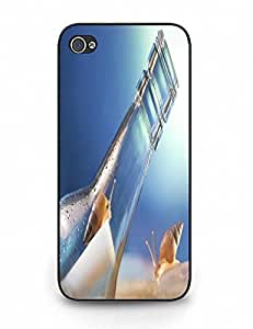 Smooth Iphone 5 5S Phone Cover With Cool Wishing Bottle Pattern, Best Gift wangjiang maoyi