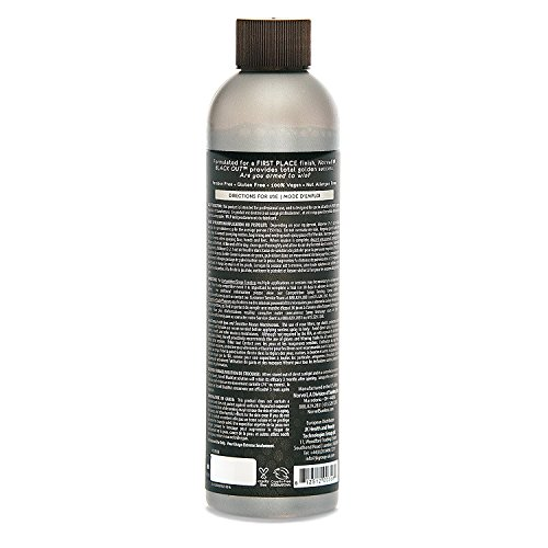 Norvell Premium Sunless Tanning Solution - Competition Black Out, 8 fl.oz. by Norvell (Image #1)