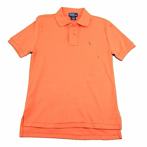 Polo Ralph Lauren Boy's Classic Cotton Summer Coral Short Sleeve Polo Shirt